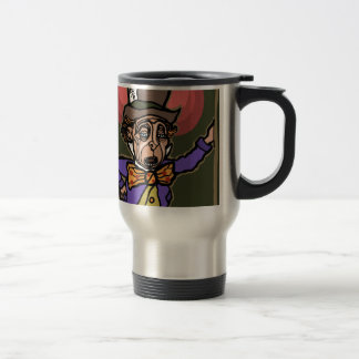 The Mad Hatter Travel Mug