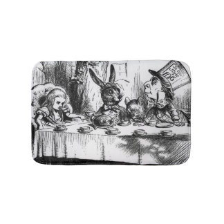 The Mad Hatter's Tea Party 2 Bath Mat