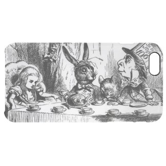 The Mad Hatter's Tea Party 2 Clear iPhone 6 Plus Case