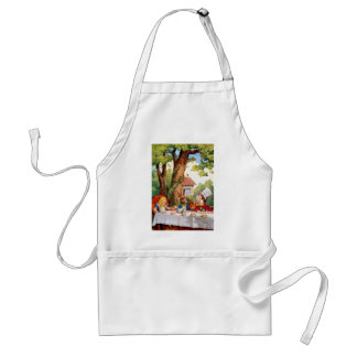 THE MAD HATTER'S TEA PARTY APRONS