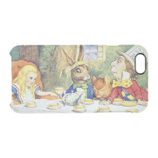 The Mad Hatter's Tea Party Clear iPhone 6/6S Case