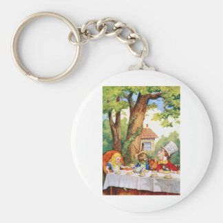 THE MAD HATTER'S TEA PARTY KEY RING