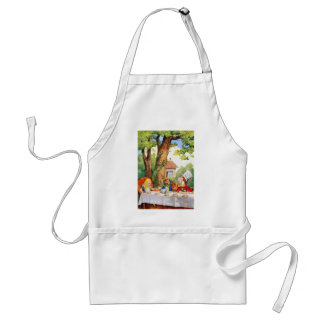 THE MAD HATTER'S TEA PARTY STANDARD APRON