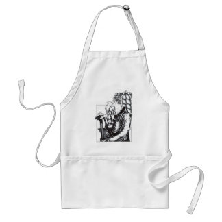 The Mad Monk Apron