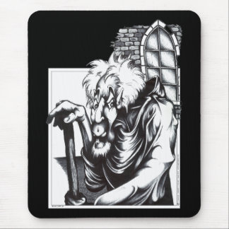The Mad Monk Mouse Pad