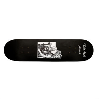 The Mad Monk Skate Board
