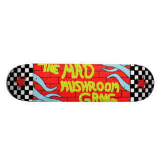 The Mad Mushroom Gang Skateboard