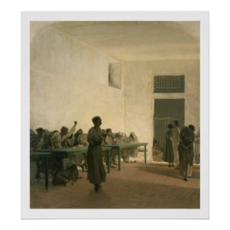 The Madhouse 1865 Print