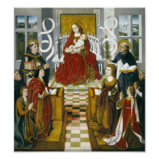 The Madonna of Catholic Kings Poster