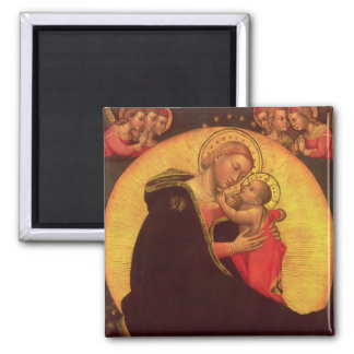 The Madonna of Humility, 1390-1400 Magnet