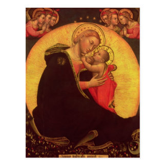 The Madonna of Humility, 1390-1400 Postcard