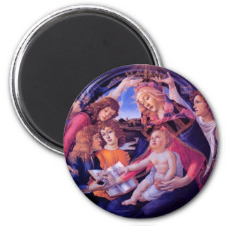 The Madonna of the Magnificat Magnet