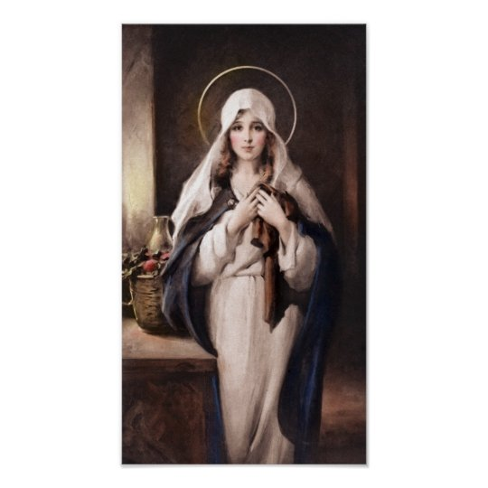 The Madonna of the Sacred Coat Print - Chambers