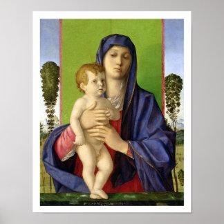 The Madonna of the Trees (Madonna degli Alberetti) Poster