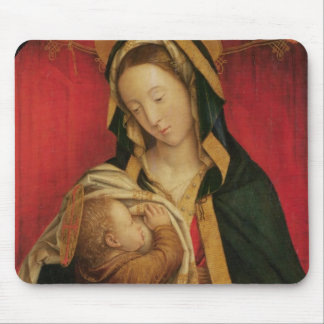 The Madonna Suckling her Child, 1520-30 (oil on pa Mouse Pad