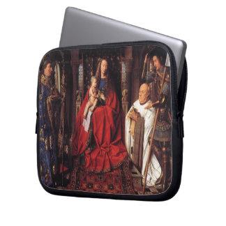 The Madonna with Canon van der Paele, Jan van Eyck Computer Sleeve