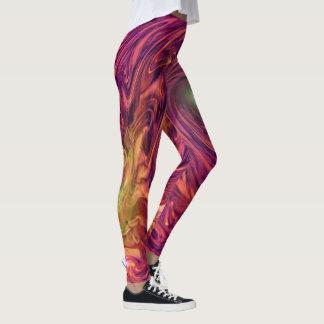 The Magenta Nebula Leggings