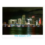 THE MAGIC CITY POSTCARD