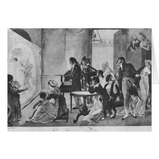 The Magic Lantern, 1798 Greeting Cards