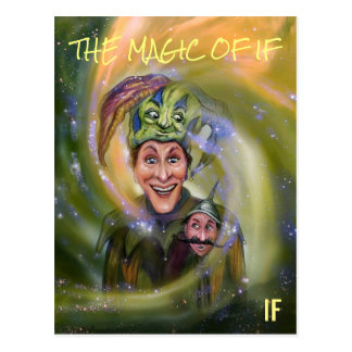 The Magic of IF postcard by Mike Winterbauer