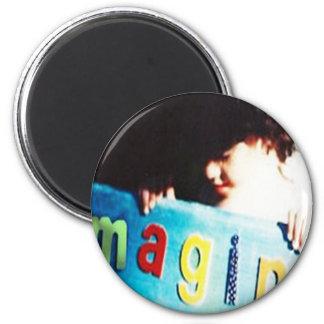 The Magic Of Life 6 Cm Round Magnet