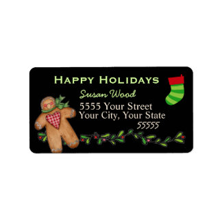 The Magic of the Holidays Return Address Labels