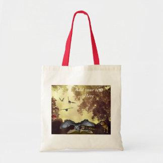 The magic Owl Book tote Budget Tote Bag