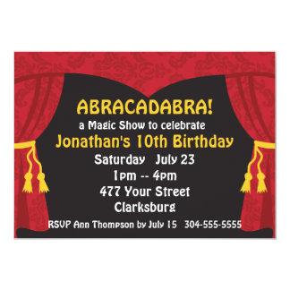 The Magic Show 13 Cm X 18 Cm Invitation Card