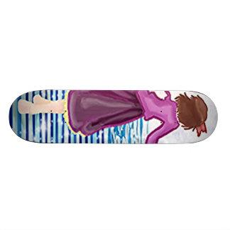 The magic with in custom skate board