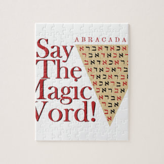 The Magic Word Jigsaw Puzzle