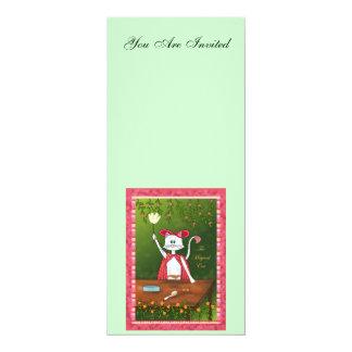 The Magical Cat 4x9.25 Paper Invitation Card