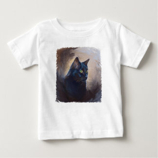 The Magical Van Goh Cat Baby T-Shirt