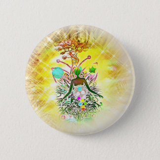 The Magician 6 Cm Round Badge