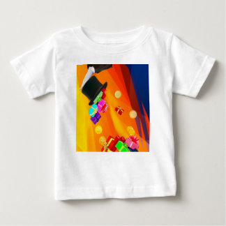 The magician hat brings golden gifts to you. baby T-Shirt