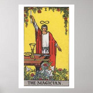 The Magician Tarot Card Poster