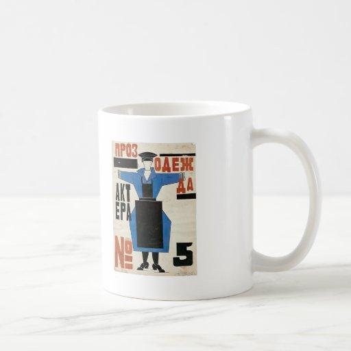 The magnanimous Cuckold by Lyubov Popova Coffee Mugs