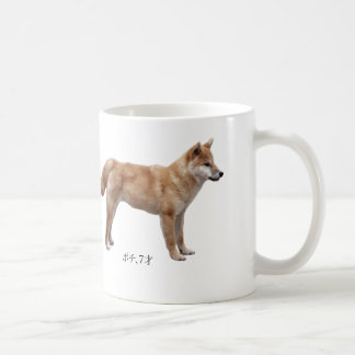 "The magnetic cup ""of Shiba Inu"", No.01"