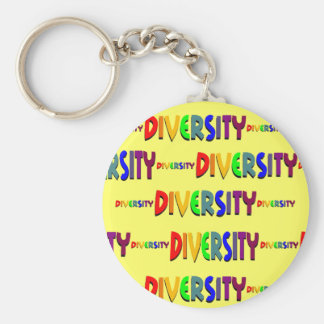 The Magnitude of Diversity Keychain