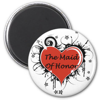 The Maid Of Honor Refrigerator Magnets
