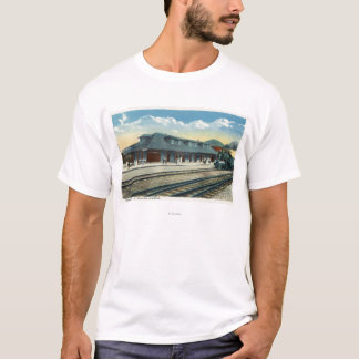 The Maine Central Railroad Station T-Shirt