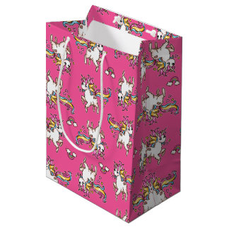 The Majestic Llamacorn Medium Gift Bag