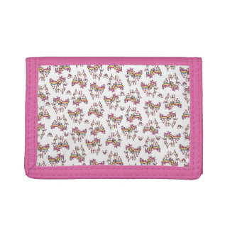 The Majestic Llamacorn Trifold Wallet