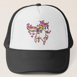 The Majestic Llamacorn Trucker Hat