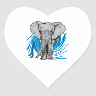 THE MAJESTIC ONE HEART STICKER