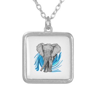 THE MAJESTIC ONE SILVER PLATED NECKLACE