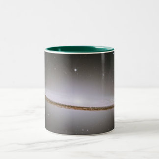 The Majestic Sombrero Galaxy M104 Coffee Mug