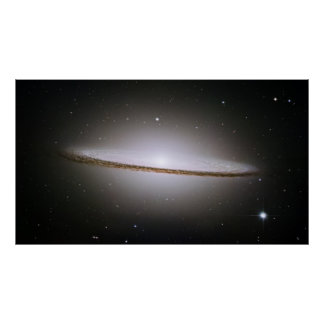 The Majestic Sombrero Galaxy (M104) Poster