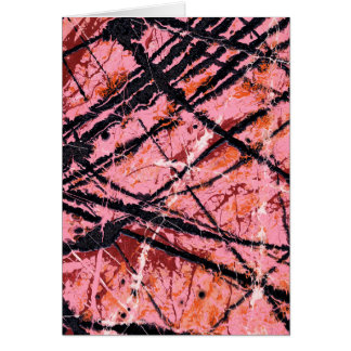 THE MAKER'S MARK (an abstract art design) ~ Greeting Card