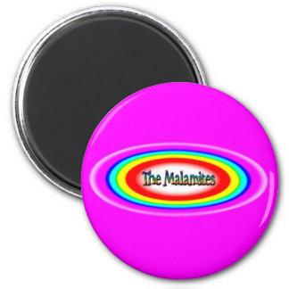 The Malamites logo 6 Cm Round Magnet