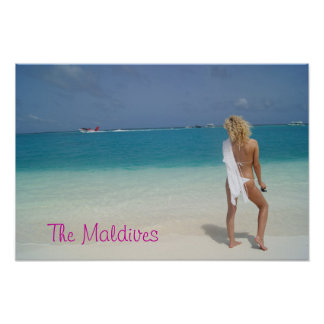 The Maldives Posters